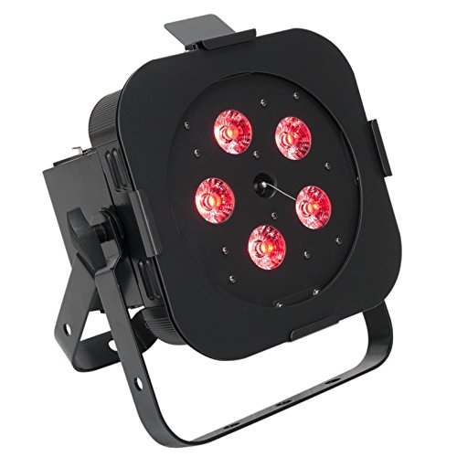 Exr Compact - American DJ WiFLY EXR Hex Par Compact Can LED RGBA+UV Wall Stage Wash Light (Certified Refurbished)