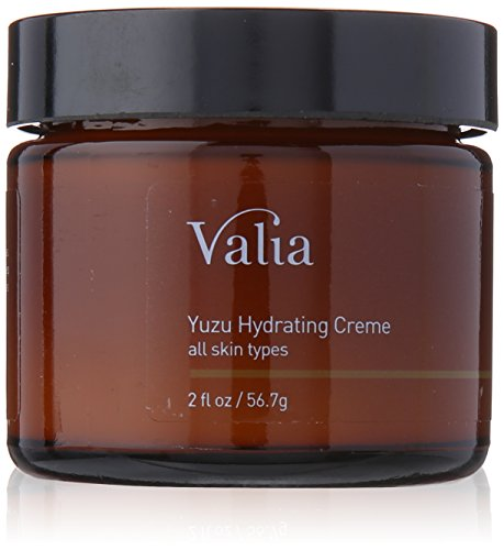 Valia Skincare Yuzu Hydrating Cream, 2 Ounce