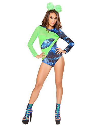 Alien Babe Costume - Small - Dress Size