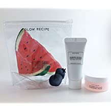 Glow Recipe Mini Duo - Watermelon Sleeping Mask & Blueberry Bounce Gentle Cleanser with Pouch