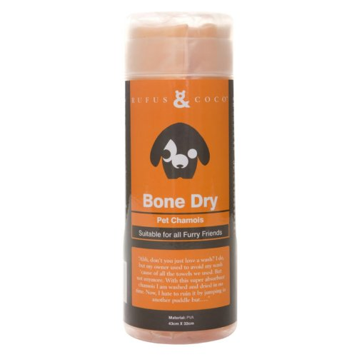 Rufus and Coco Bone Dry Pet Chamois, My Pet Supplies
