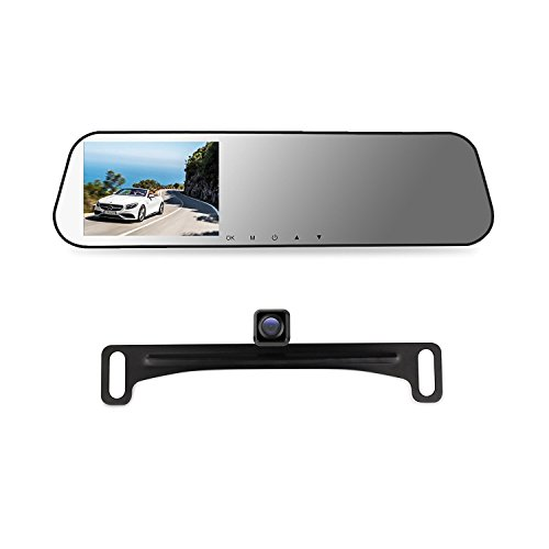 AUTO VOX Rearview Recorder Micro SD Included product image