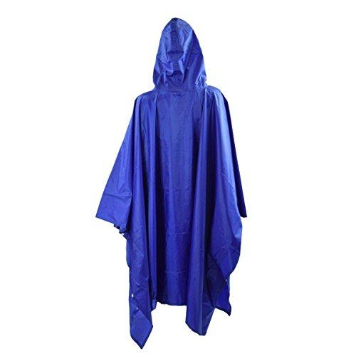 Originelli Poncho Imperméable Protection Bleu Pluie Clair de Sonia aqvpRUU
