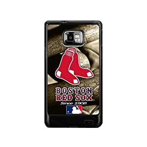 MLB Boston Red Sox Custom Case for Samsung Galaxy S2 I9100 Hard Cover