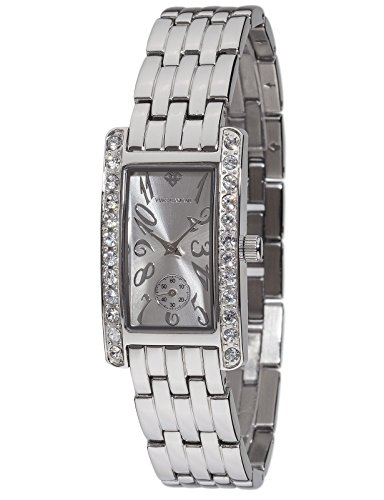 Yves Camani Amance II Women's Wrist Watch Quartz Analog Silver Dial Stainless Steel Casing & Strap