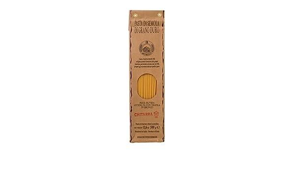 Antico Pastificio Morelli - Guitarra Spaghetti (500 g) - Sémola ...