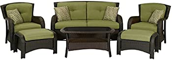 Hanover Strathmere 6Pc. Patio Seating Set