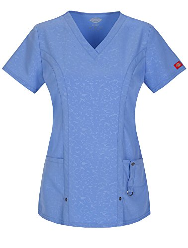 (Women's Xtreme Stretch V-Neck Scrub Top)