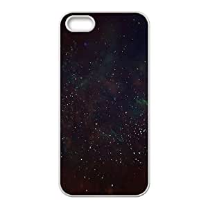For Ipod Touch 5 Phone Case Cover Deep Dark Space Stars Hard Shell Back White For Ipod Touch 5 Phone Case Cover 341426