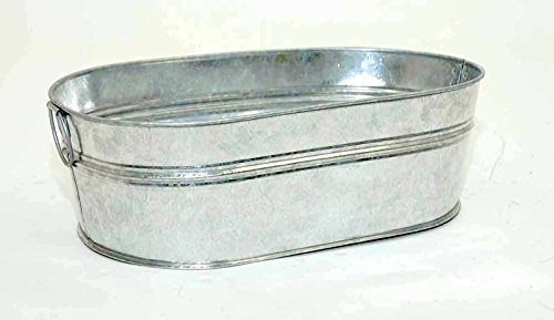 galvanized-oval-tub-with-handles-4-inches-high-x-135-inches-long-x-8-inches-wide