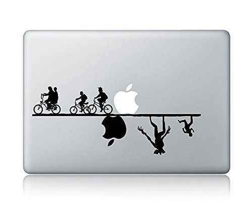 Stranger Things (v1) Apple Macbook Laptop Vinyl Sticker Decal skin