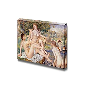 Wonderful Expert Craftsmanship, Premium Creation, The Large Bathers by Pierre Auguste Renoir Print Famous Painting Reproduction