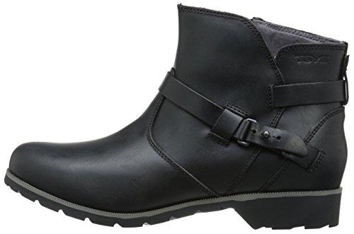 Ankle Bottes black Noir Delavina Classiques Femme Teva w6z5q8