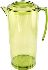 Dimlaj Round Green Acrylic Jug