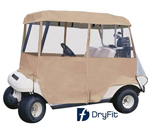 Ace Economy 4-Sided Portable Golf Cart Cover (Tan)