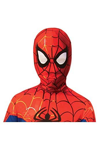 Rubie's Spider-Man: Into The Spider-Verse Child's Peter Parker Spider-Man Fabric Mask