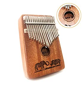 KALIMBA MBIRA SANZA The TRSCIND Kalimba Finger Piano is an African musical instrument consisting of a wooden board (often collated with a resonator) with attached staggered metal tines, played by holding the instrument in the hands and plucking the t...