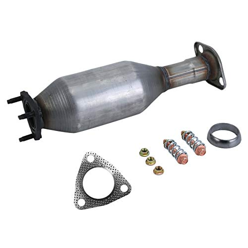 Catalytic Emissions Converter (Florenceenid Car Exhaust Emissions Treatment Front Catalytic Converter Suitable for Honda CR-V CRV 1997-2001 Auto Accessories)