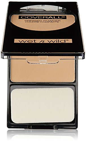 Wnw Coverall 825b Pwdr Me Size .26oz Wet N Wild Coverall Pressed Powder Medium 825b (Wet Wild Coverall N)