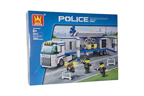Imex WANGE MOBILE POLICE UNIT COMPATIBLE BLOCK SET (395 PCS)