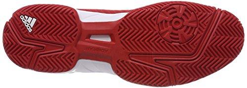 Adidas Herren Barricata Corte 3 Rot Tennisschuhe (escarl / Ftwbla / Escarl 000)