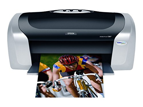 Epson Stylus C88+ Inkjet Printer Color 5760 x 1440 dpi Print Plain Paper Print Desktop Model C11C617121 (Best Epson Printer For Sublimation)