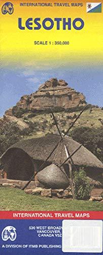 Lesotho 1:350,000 Travel Reference Map (International Travel Maps)...