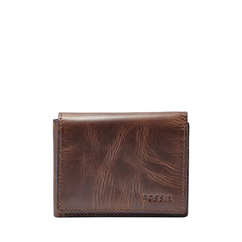 Fossil Men's Derrick Leather Execufold Wallet