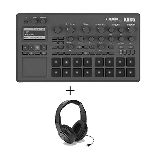 Korg ELECTRIBE Synth Based Production Station with Stereo Headphones by Korg