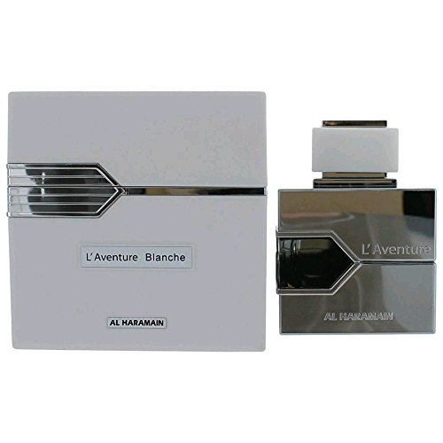 AL HARAMAIN L'aventure Blanche Eau de Parfum Spray for Women, 3.3 Ounce (Al Perfumes Haramain)