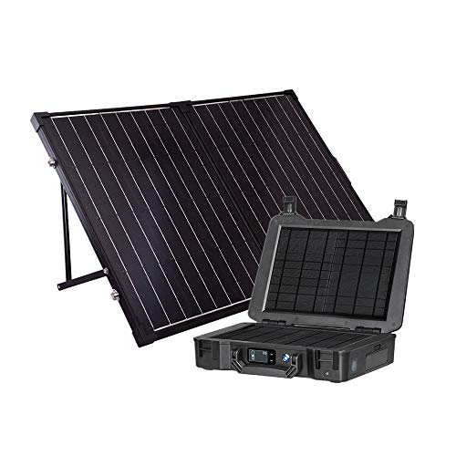 - Renogy The Phoenix Generator + 100 Watt Monocrystalline Foldable Solar Suitcase Kit