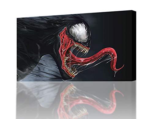 Venom Spider Man Villain Canvas Print Wall