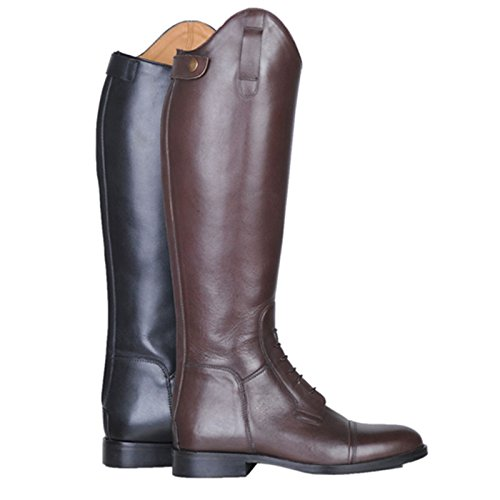 HKM–Botas de equitación Spain Soft Piel corta/Gran Marrón - marrón