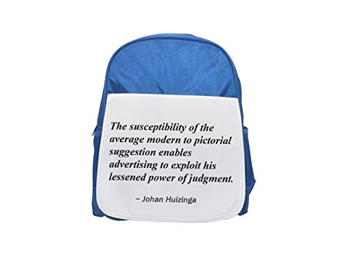 The susceptibility of the average modern to pictorial suggestion enables advertising to exploit his lessened power of judgment. printed kid\'s blue backpack, Cute backpacks, cute small backpacks, cute