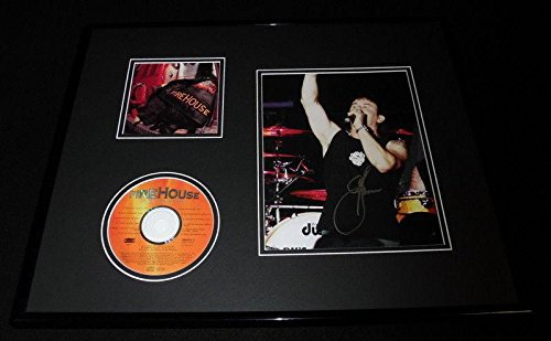 ed 16x20 Firehouse Hold Your Fire CD & Photo Display - Autographed Soccer Photos ()