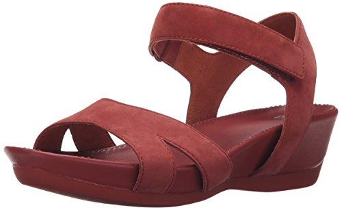 Husbil Kvinna Mikro Sandal Plattform Sandal Medellång Röda