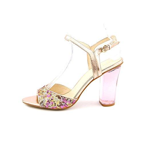 Nine West Phishin Open Toe Dress Sandals Shoes Womens Pink 51xlehDi5