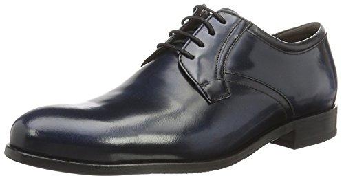 ECCO Irvington, Zapatos de Cordones Derby para Hombre Azul (51705navy/navy)