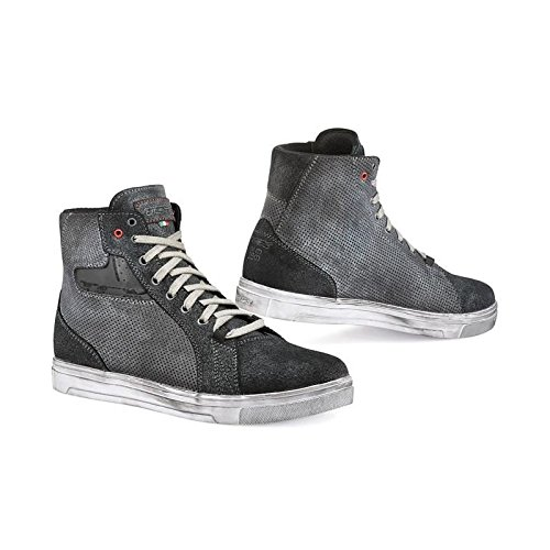 TCX Street Ace Air Men's Street Motorcycle Shoes - Anthracite / 42