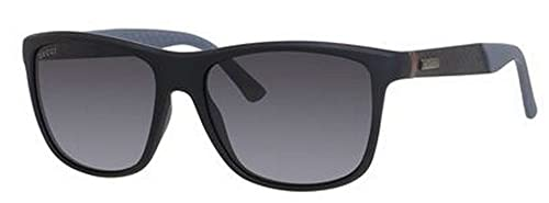 12c0802bd9 Gucci Men s GG 1047 N S Matte Black Grey Polarized  Amazon.ca ...