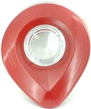 Tapa para batidora KitchenAid (incluye tapón de medida) para los modelos KSB555 y KSB565. Color rojo imperio.: Amazon.es: Hogar