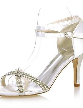 ShangYi Zapatos Mujer – Sandalias – Boda planeta y día – abierta – A  Stiletto a0d7bdaae4e8