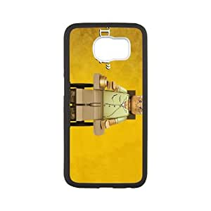 Samsung Galaxy S6 Cell Phone Case White Breaking Bad A 004 Delicate gift AVS_590949