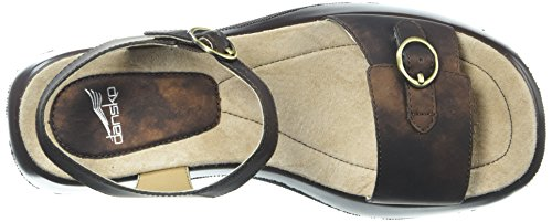 Brown Womens Metallic Lynnie Dark Lynnie Dansko T0IxdHH