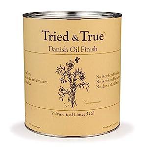 Tried & True Danish Oil Finish - Check Price on Amazon