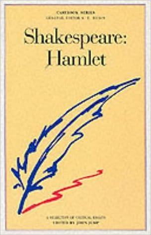 hamlet critical analysis essay