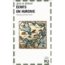 ÉCRITS EN HURONIE