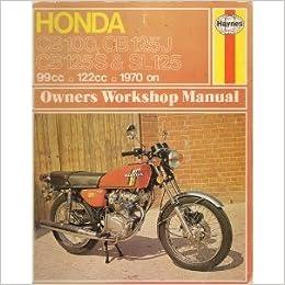 Honda cb125s honda cb125j haynes manual 1970 1976 amazon books fandeluxe Choice Image