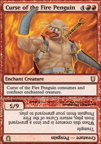 Magic: the Gathering - Curse of the Fire Penguin - - Penguin Magic