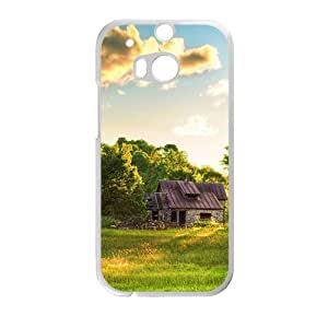 glam hills lodge personalized high quality cell phone case for HTC M8 by ruishername